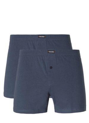 Ceceba grote maat boxershorts blauw