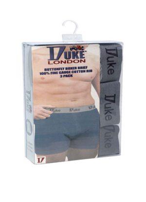 Grote maten heren boxershorts van het merk Duke.
