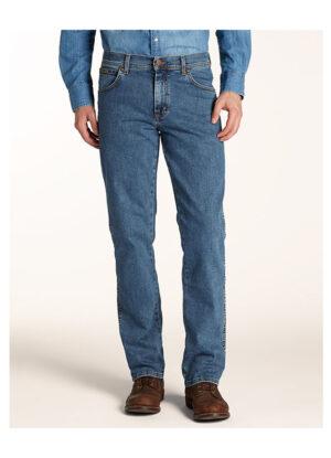 Wrangler grote maat texas stonewash stretch jeans