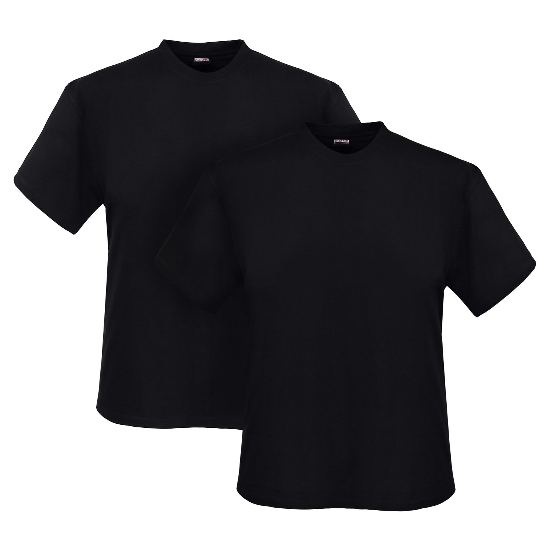 Adamo grote maat t-shirts zwart