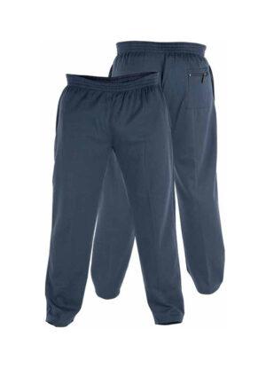 Duke Rockford grote maat joggingbroek donkerblauw model Albert