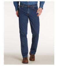 Grote maat Wrangler Texas dark stonewash stretch jeans