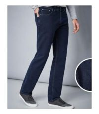Pionier 40inch lengte maat stretch jeans dark stonewashed model Marc