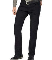 Pionier grote maat casual jeans zwart model Peter