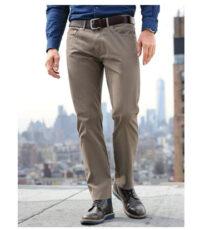 Pionier grote maat casual jeans khaki model Peter