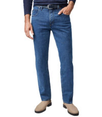 Pioneer grote maat stretch jeans model Peter stone washed