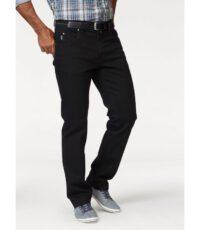 Pionier denim spijkerbroek stretch zwart in model Peter
