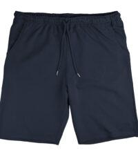Grote maat korte joggingbroek donkerblauw