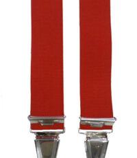 Dobrefa extra lange bretels uni rood