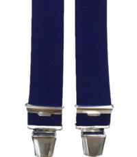 Dobrefa extra lange bretels uni donkerblauw