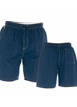 D555 grote maat zwemshort donkerblauw en wit