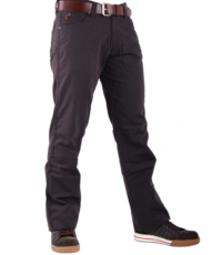 Lengte maat 40L Mustang stretch jeans zwart model Tramper