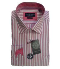 Casa Moda 72cm overhemd extra langemouw roze witte lengte streep