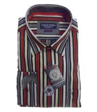 Casa Moda 72cm overhemd extra langemouw gekleurde lengte streep
