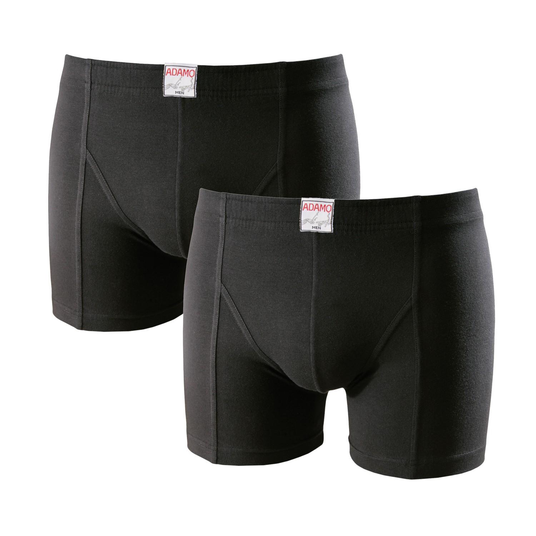 Grote maten boxershorts Adamo zwart