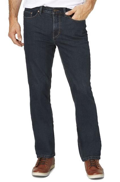 Paddock's lengte maat jeans dark stonewashed Model Frisco