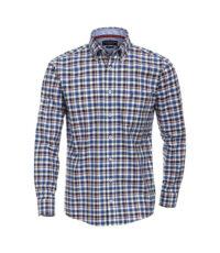 Casa Moda overhemd 72cm extra langemouw gekleurd ruitje button down