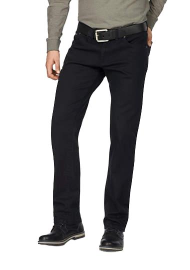 Pionier 40inch lengte maat jeans zwart