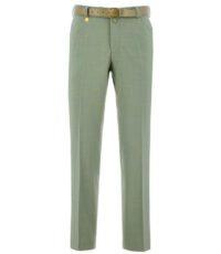 M.E.N.S stretch pantalon groen in model Madrid-U