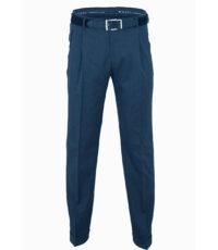 Club of comfort lengte maat stretch bandplooi pantalon blauw