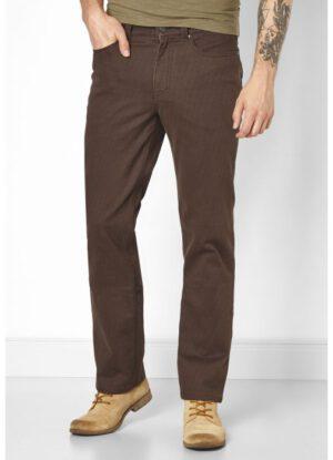 Paddock's grote maat casual stretch jeans bruin model Ranger