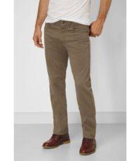 Paddock's grote maat casual stretch jeans donkerbeige model Ranger