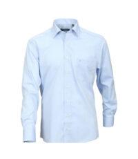 Casa Moda overhemd extra lange mouw mouwlengte7 uni lichtblauw strijkvrij