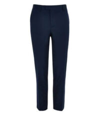Stretch pantalon grote maat donkerblauw