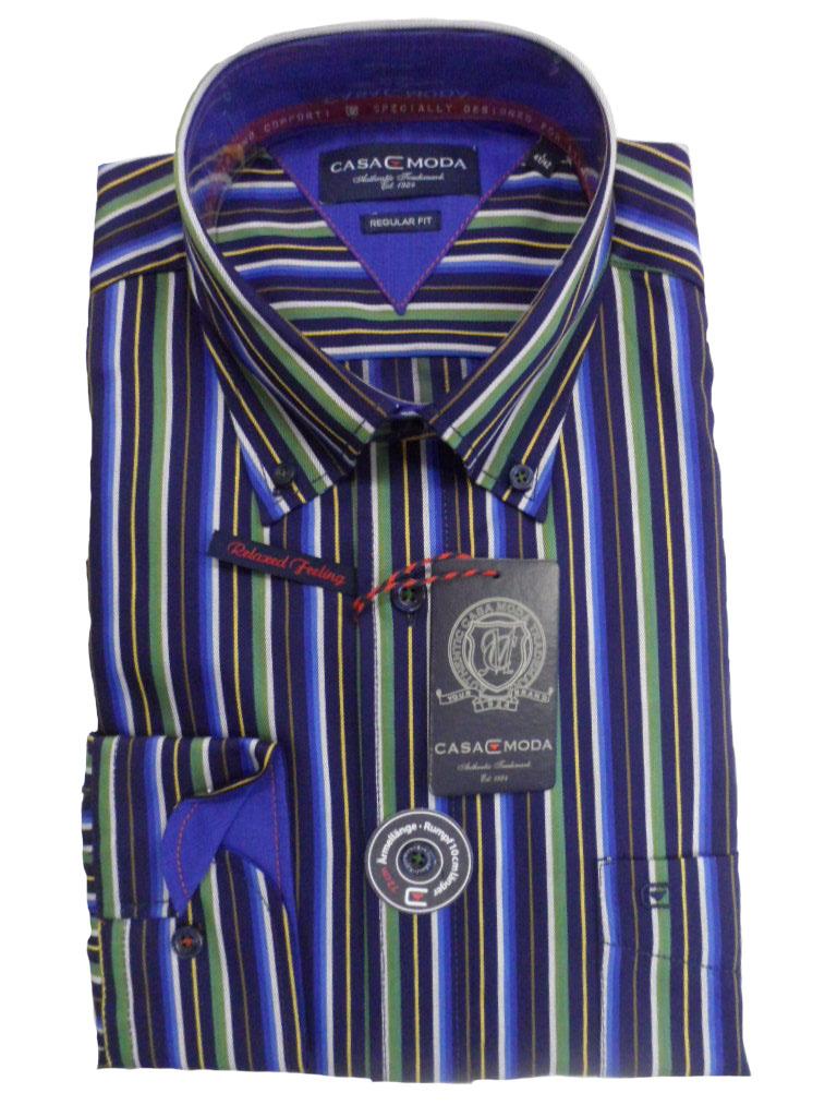casa moda overhemd extra lange mouw
