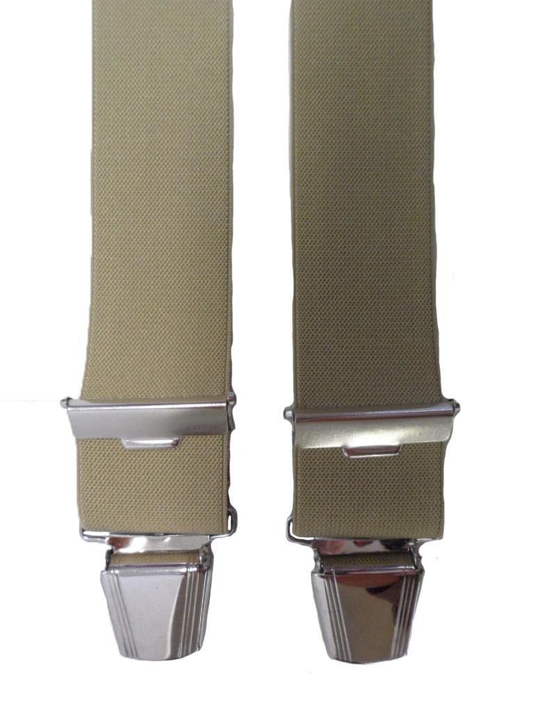 Dobrefa extra lange bretels uni beige