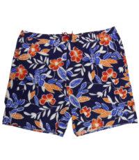 Baileys grote maat zwemshort met binnenbroek navy bloem print