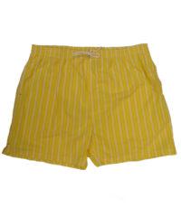 Baileys grote maat zwem broek geel met witte lengte streep