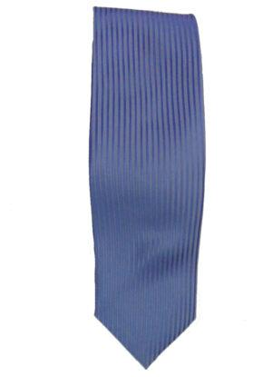 Stropdas lichtblauwe lengte streep