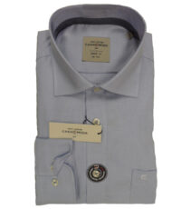 Casa Moda overhemd extra lange mouwlengte7 lichtblauw werkje strijkvrij