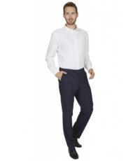 Club of comfort grote maat stretch pantalon donkerblauw