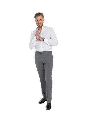 Club of comfort grote maat stretch pantalon grijs
