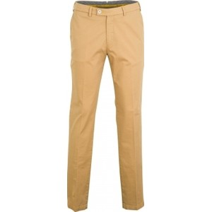 Club of comfort grote maat stretch pantalon beige