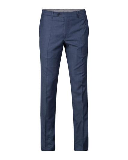 Club of comfort lengte maat stretch pantalon rafblauw