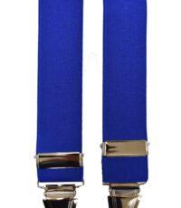 Dobrefa extra lange bretels uni blauw
