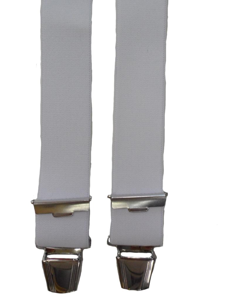 Dobrefa extra lange bretels uni wit