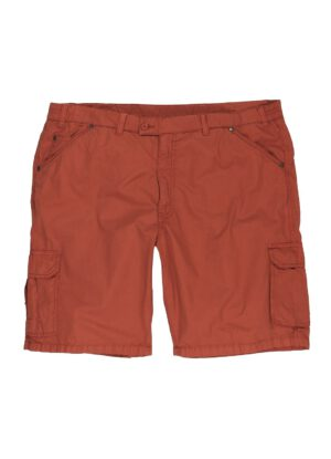 Luigi Morini grote maat korte broek rood