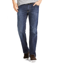 Grote maat Mustang jeans Tramper dark stonewashed light used