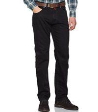 Pierre Cardin 5 pocket lengte maat jeans stretch zwart