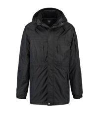 Brigg grote maat winterjas 3 in 1 zwart