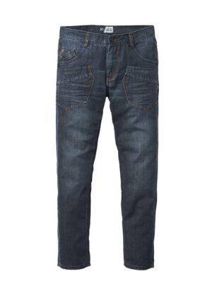 24/7 extra lange spijkerbroek worker jeans in stonewashed of darkstonewashed