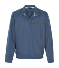 Canson grote maat zomerjack blauw