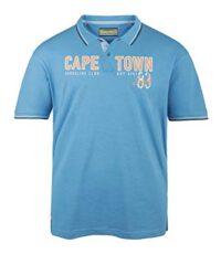 Redfield grote maat poloshirt korte mouw blauw Cape Town