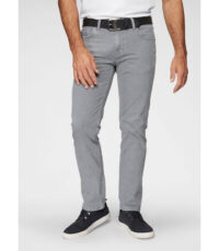 Pionier grote maat casual stretch jeans lichtgrijs model Peter