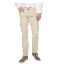 Grote maat Pierre Cardin 5 pocket jeans stretch lichtbeige