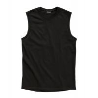1825f_Redfield_mouwloos_tshirt_zwart